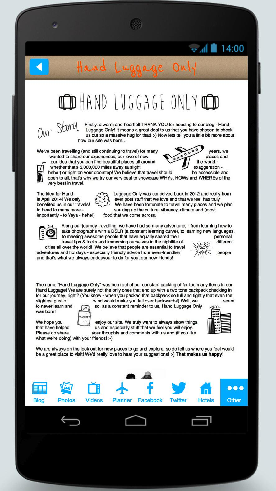 The Brand Spanking New (and FREE) Hand Luggage Only App! (4)
