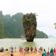 The 2nd Part: Things To Do When Sailing From Island To Island in Phang Nga Bay, Phuket, Thailand