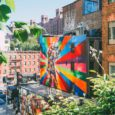 Walking The High Line And Fashion Week In New York
