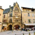 The Old Historic French Town Of Sarlat