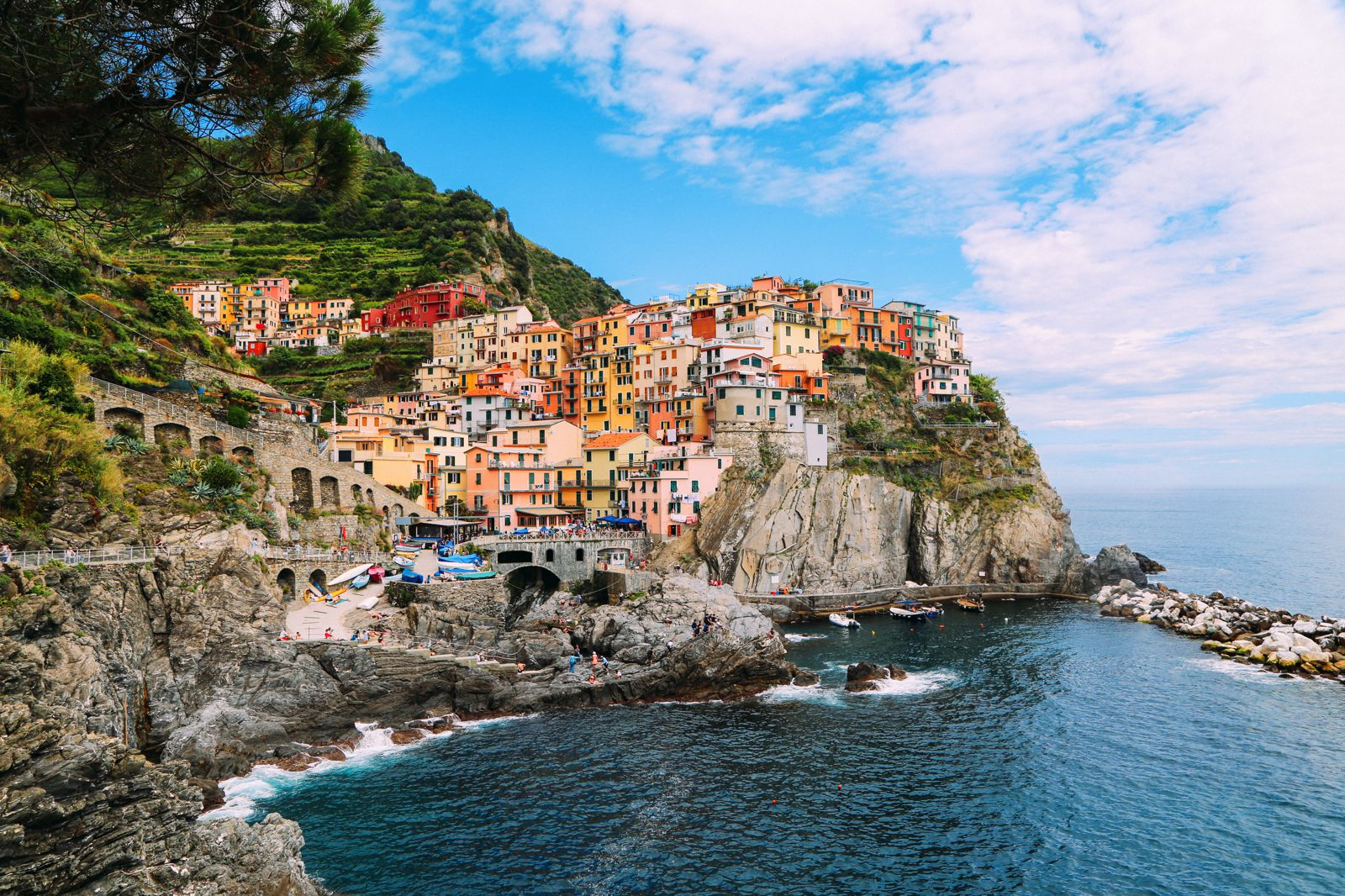 Afternoons In Cinque Terre, Italy... (7)