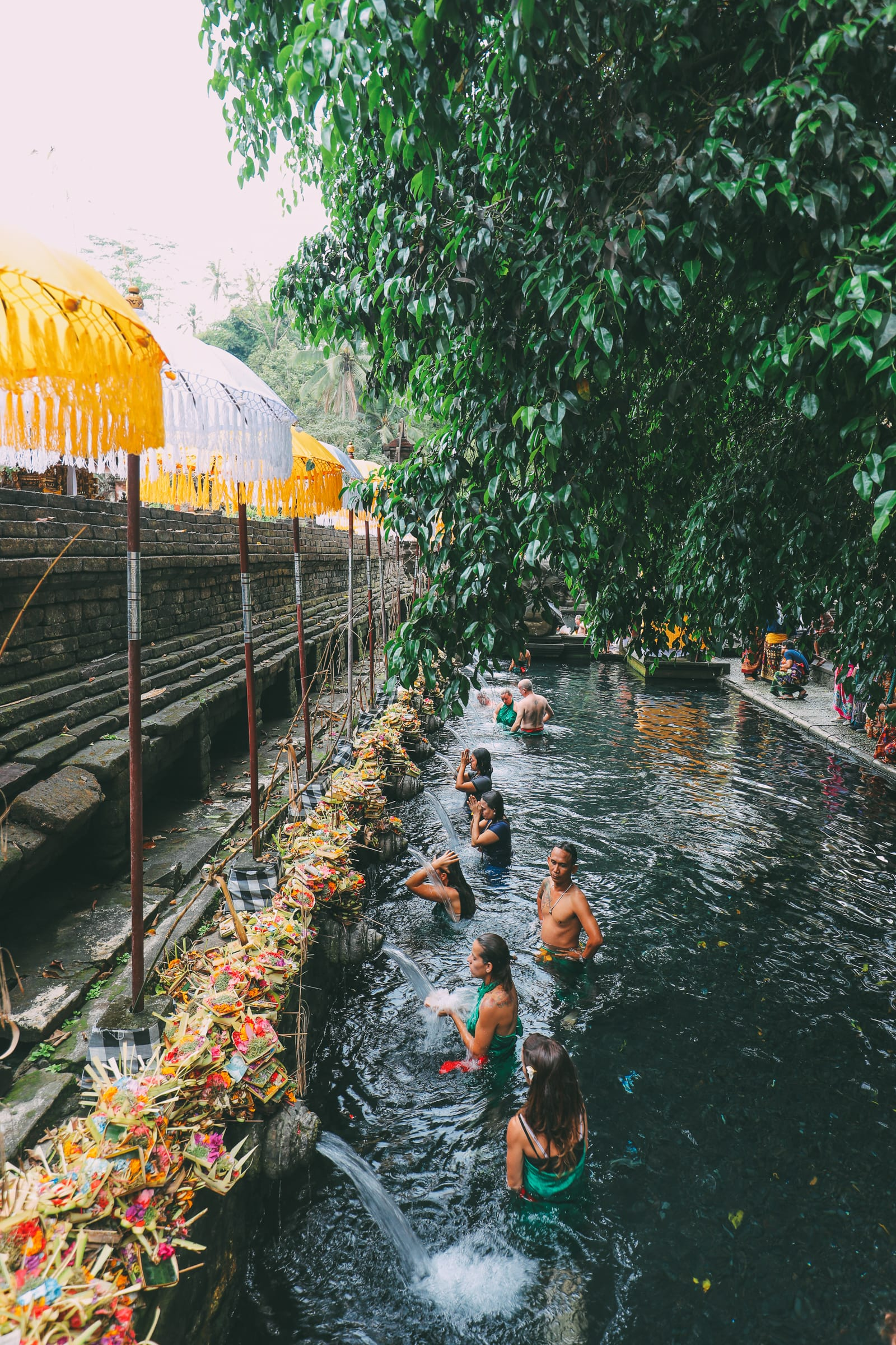 Finding A Secret Waterfall in Bali, Tirta Empul Temple And Mount Batur Volcano (7)