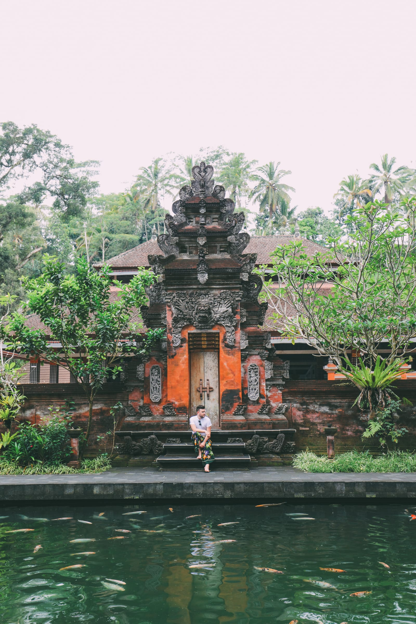 Finding A Secret Waterfall in Bali, Tirta Empul Temple And Mount Batur Volcano (13)