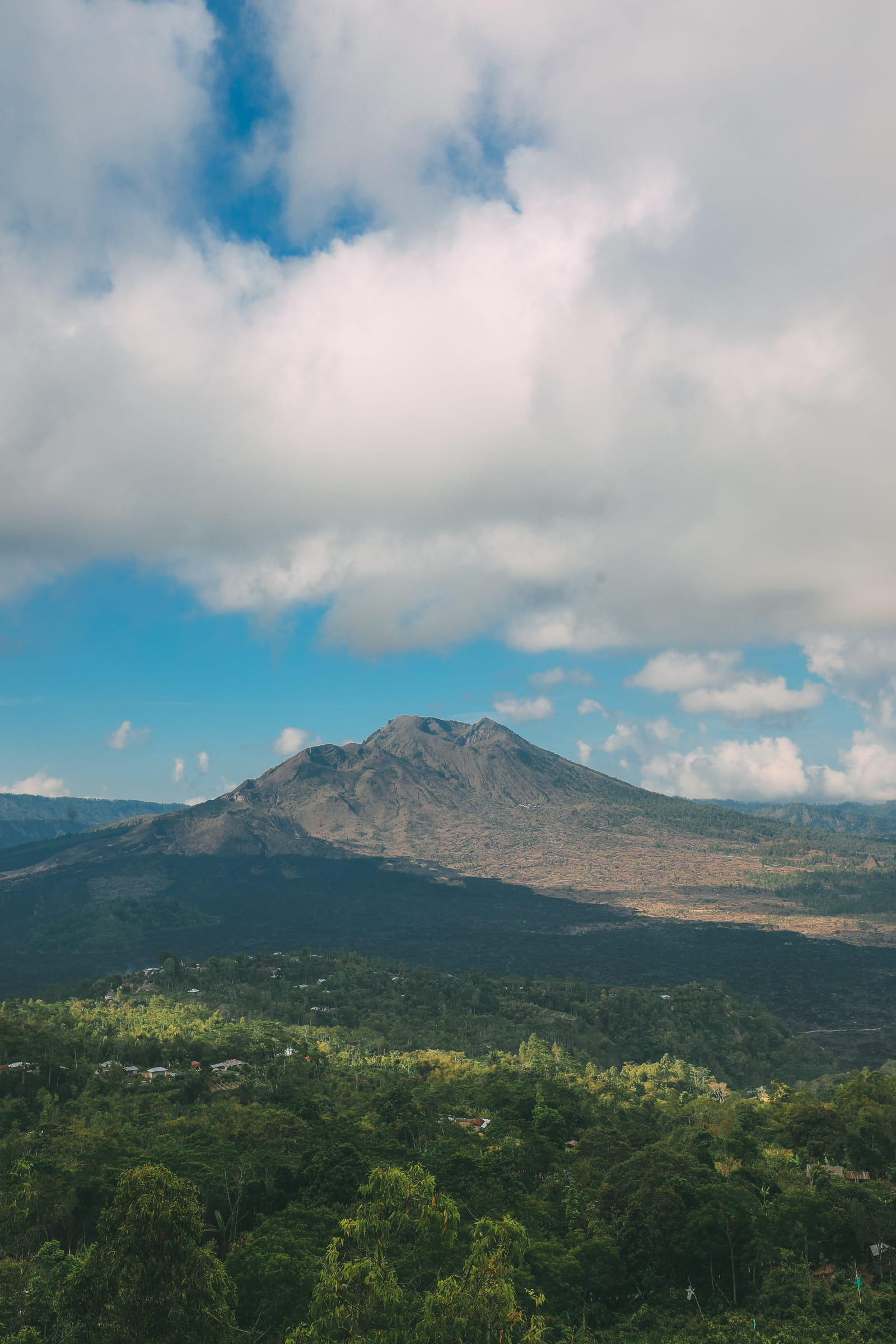 Finding A Secret Waterfall in Bali, Tirta Empul Temple And Mount Batur Volcano (27)