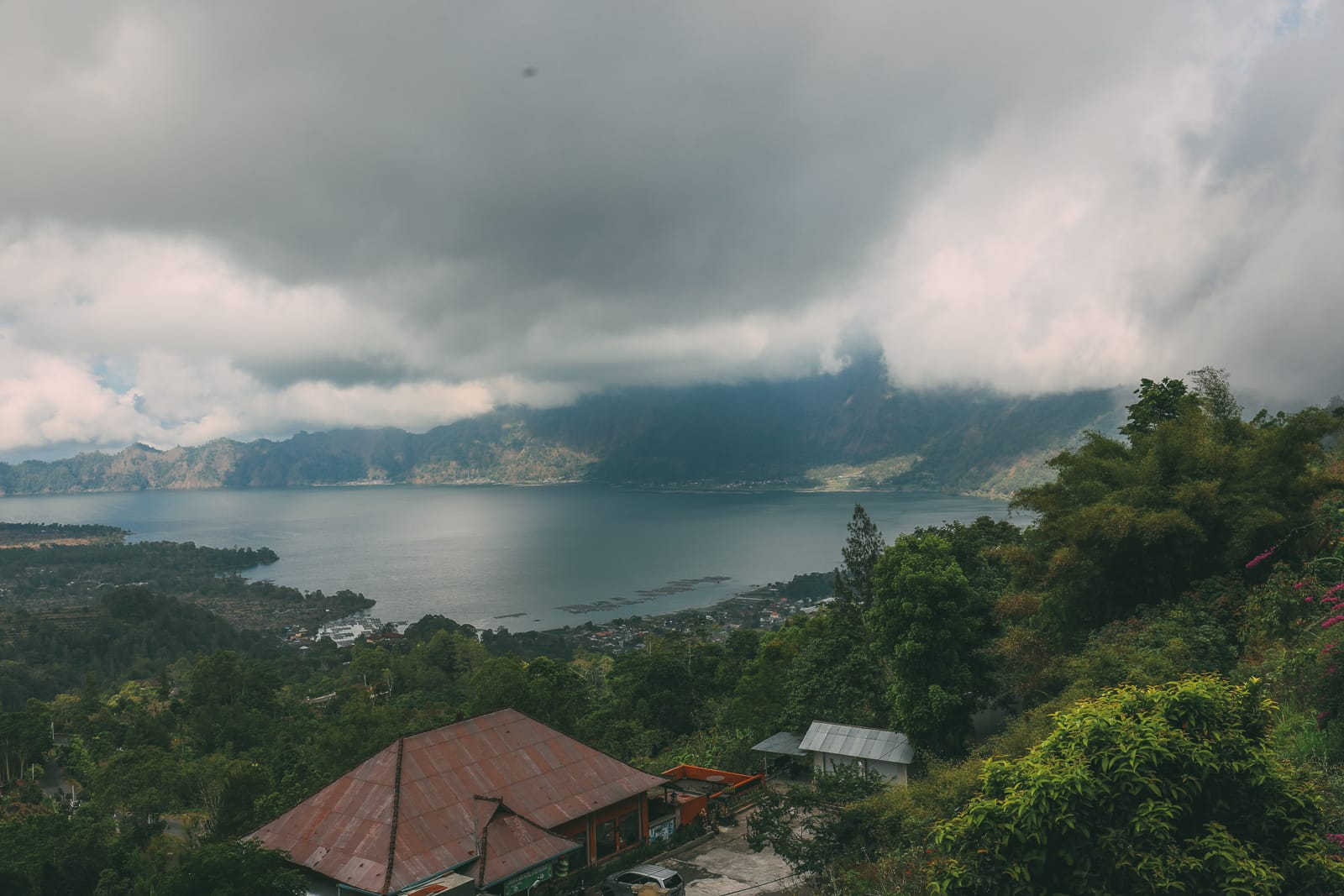 Finding A Secret Waterfall in Bali, Tirta Empul Temple And Mount Batur Volcano (28)