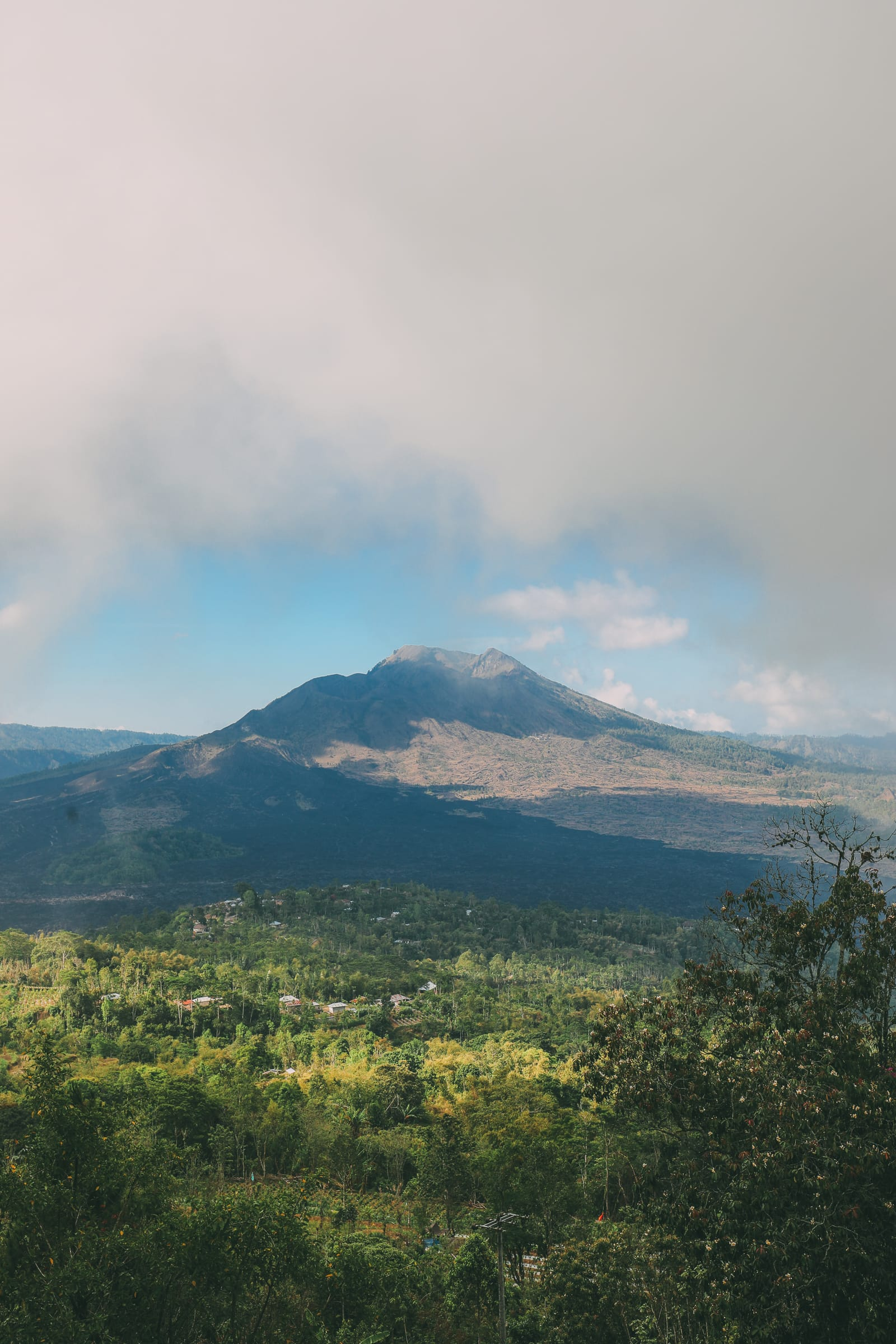 Finding A Secret Waterfall in Bali, Tirta Empul Temple And Mount Batur Volcano (33)
