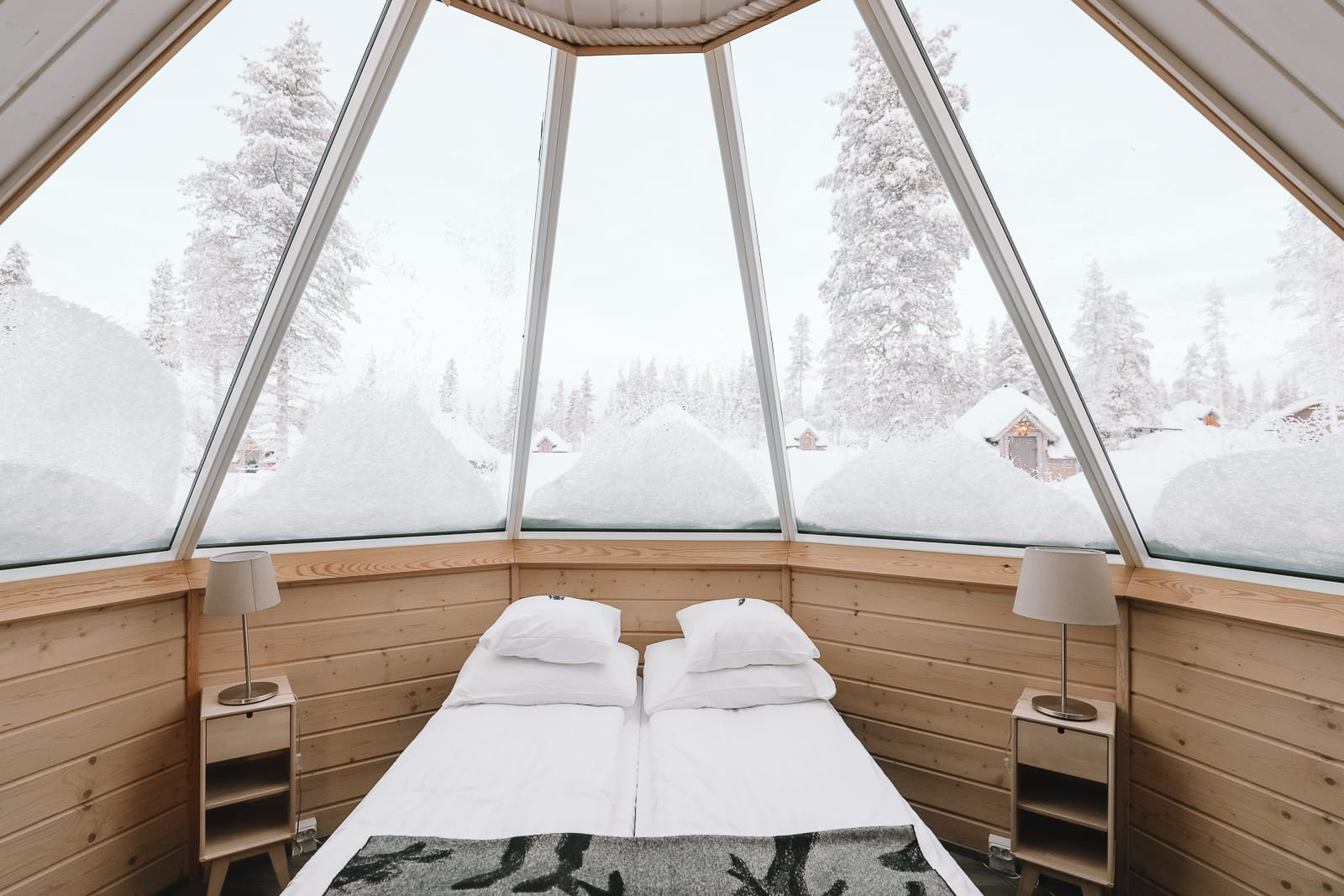 The Northern Lights Village And Star Arctic... In Lapland, Finland (11)