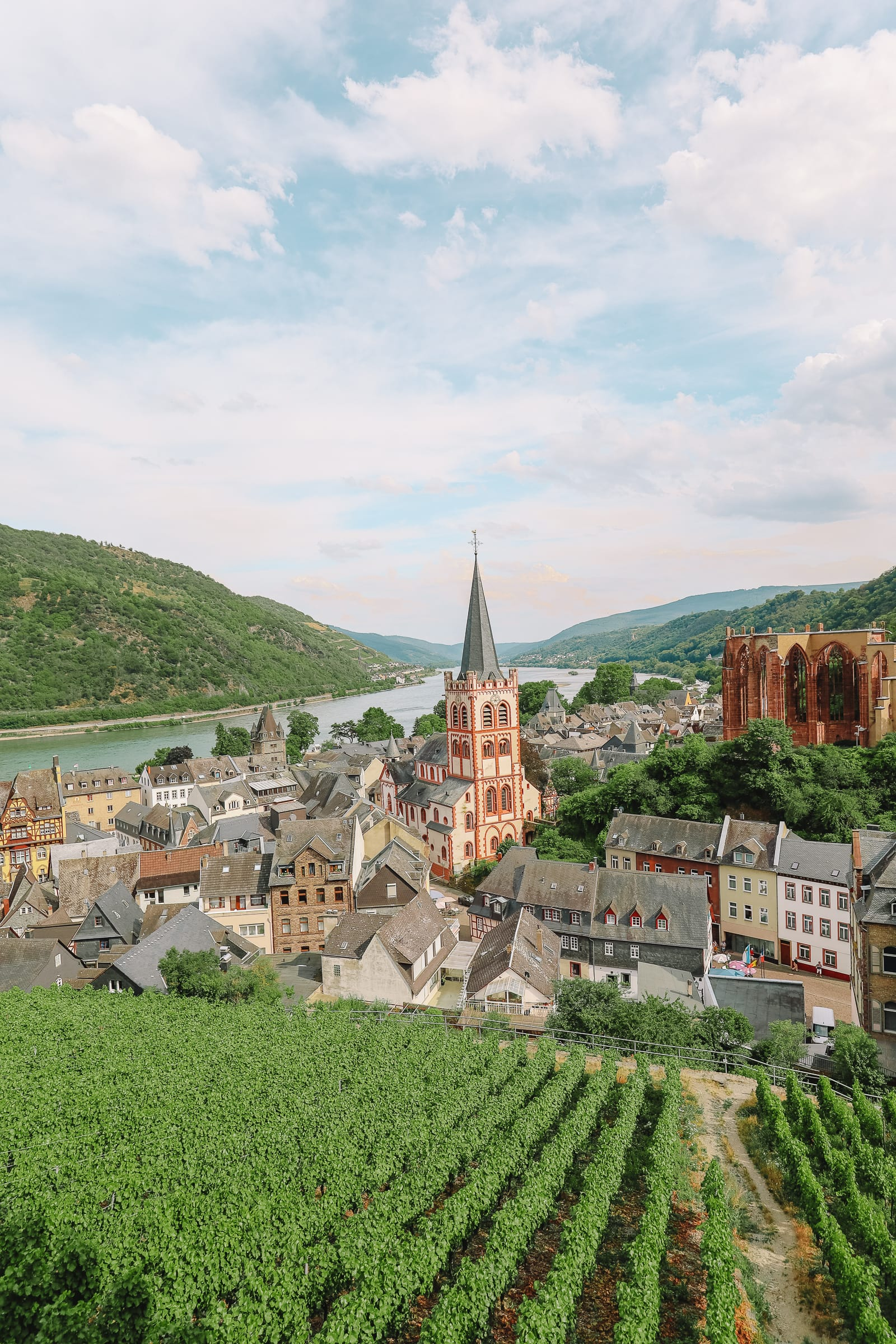 The Beautiful German Town Of Bacharach (32)